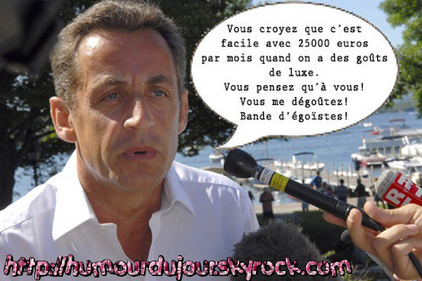 SARKOZY SUITE ET FIN