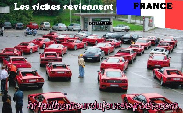 LES RICHES REVIENNENT LOL