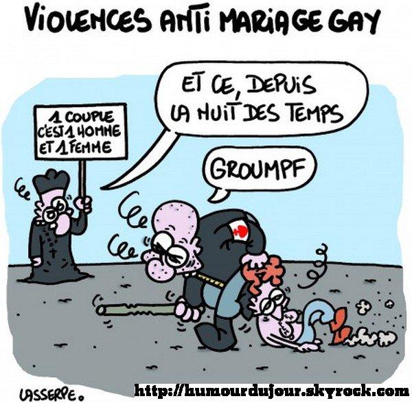 Arguments contre le mariage gay