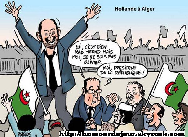 HOLLANDE A ALGER