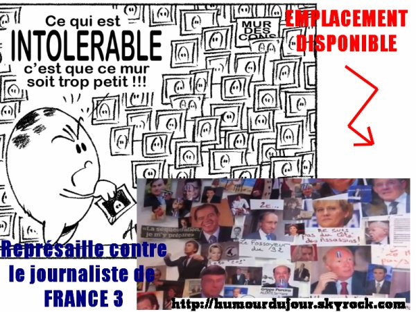 LE MUR DES CONS